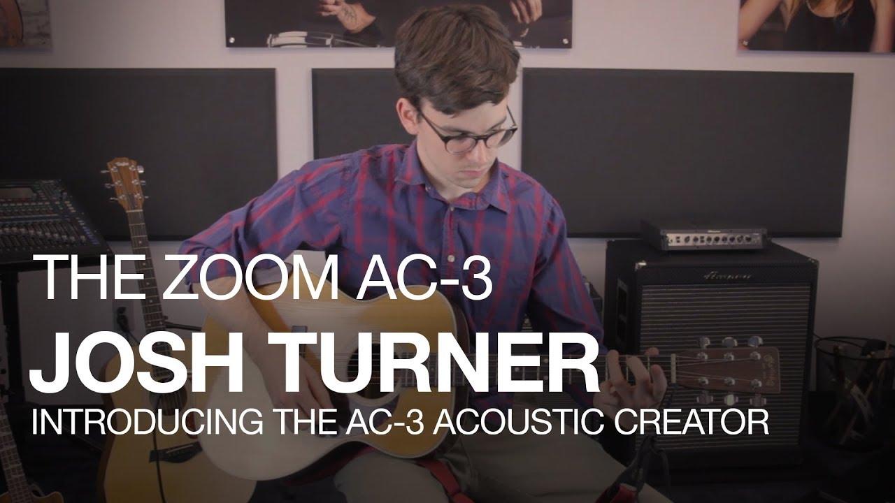 Zoom AC-3 Acoustic Creator | Zoom