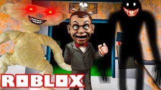 ROBLOX SCARY ELEVATOR *NEW SLAPPY & BEAR UPDATE*