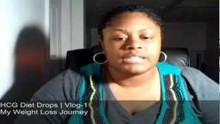 My WalMart HCG Diet Drops Review Day 1 (Weight 261)