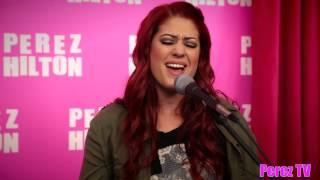 """Nikki Williams - """"Glowing"""" ( Acoustic Perez Hilton Performance)"""