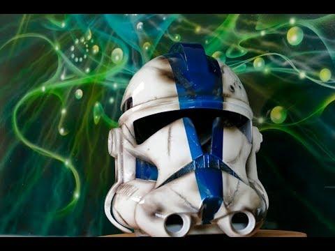 Clone Trooper De La Saga Star Wars Casque Impression 3d Peinture À L