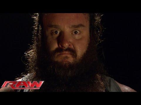 Bray Wyatt introduces Braun Strowman to the world: Raw, Aug. 24, 2015