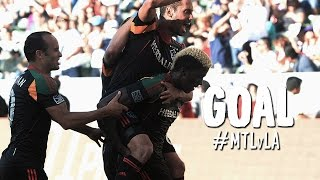 GOAL: Gyasi Zardes stays hot and slots one home   Montreal Impact vs. LA Galaxy