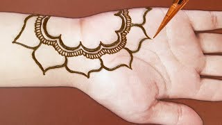 Latest Beautiful and easy mehndi designs for hands 2019