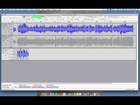 Fixing Audacity sync recording issues