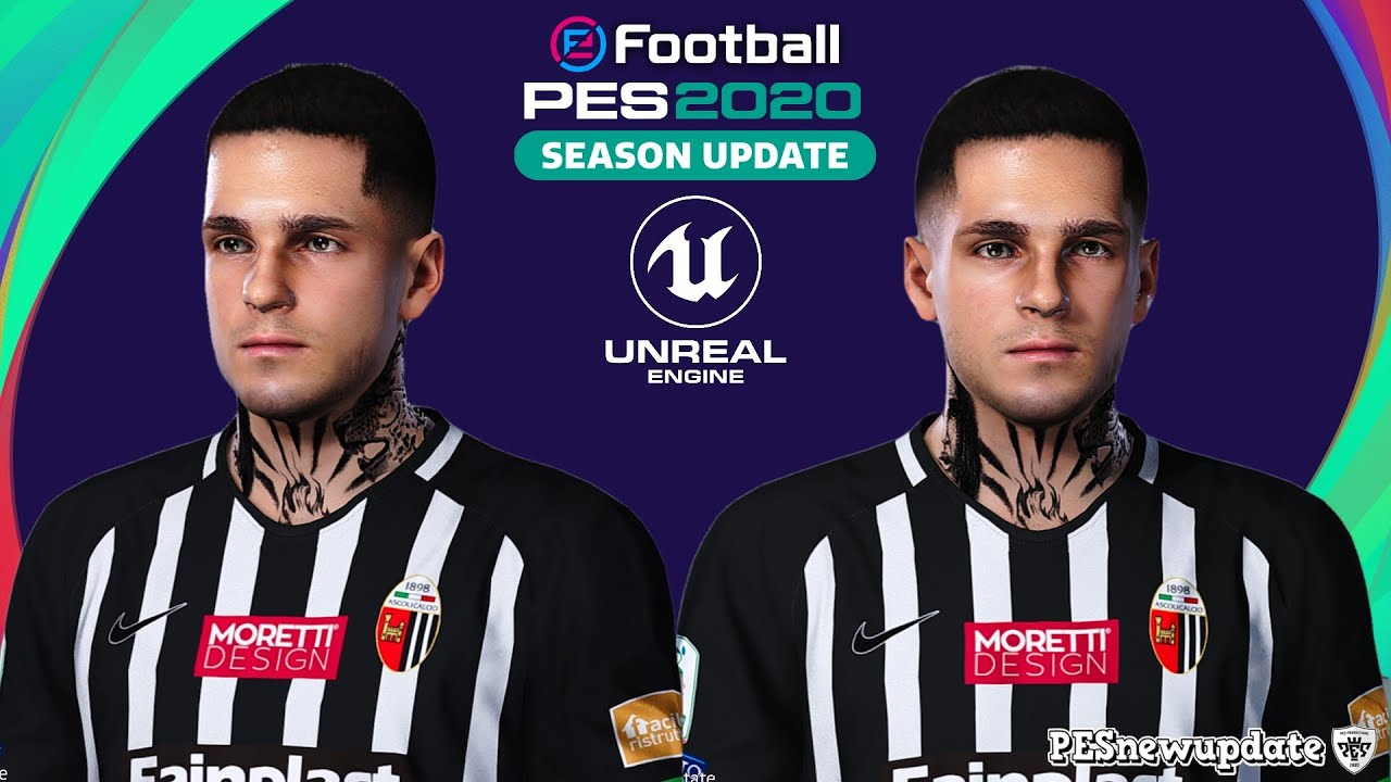Pes 2020 Faces Gianluca Scamacca By Prince Hamiz Pesnewupdate Com Free Download Latest Pro Evolution Soccer Patch Updates
