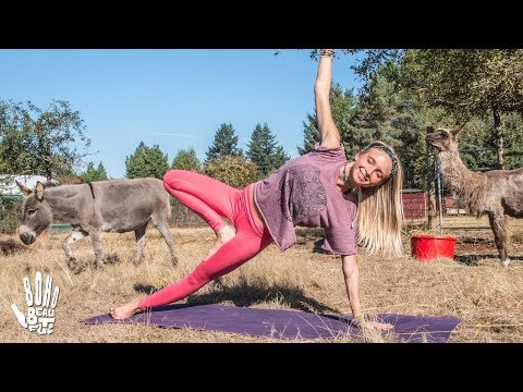 Pilates Hard Core Blast ♥ Yoga Workout | Out To Pasture Sanctuary