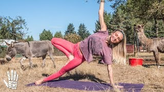 Pilates Hard Core Blast  Yoga Workout | Out To Pasture Sanctuary