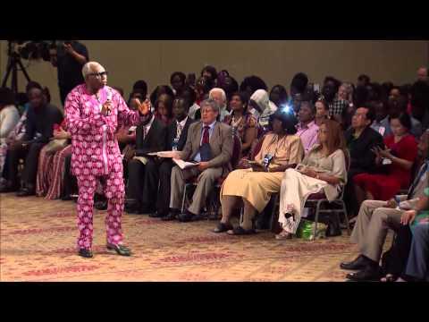 "Pastor Ayo Oritsejafor ministering ""The devil is a liar. We serve a LIVING GOD!"""