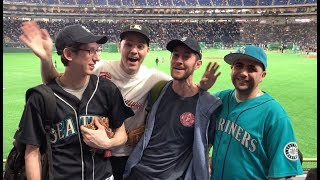 VLOG #15 -- JAPAN!! Baseball games, video games, weird food, weird friends, and more