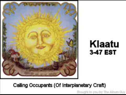 calling occupants of interplanetary craft klaatu 1976 calling occupants of interplanetary craft 5979