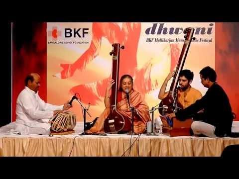 Vidushi Ashwini Bhide Deshpande-raag shuddha sarang