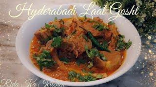 Hyderabadi Laal Gosht //indian Recipe//
