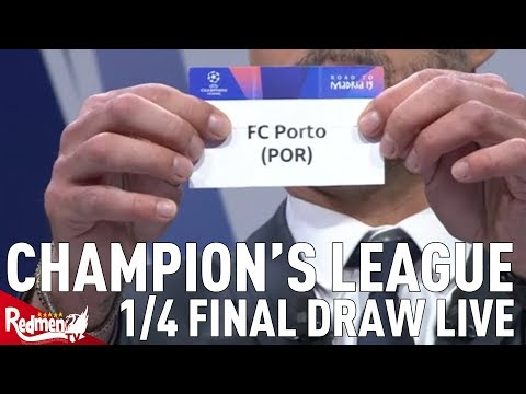 Liverpool v Porto!!!   Champions League Quarter Final and Semi Final Draw Reaction LIVE