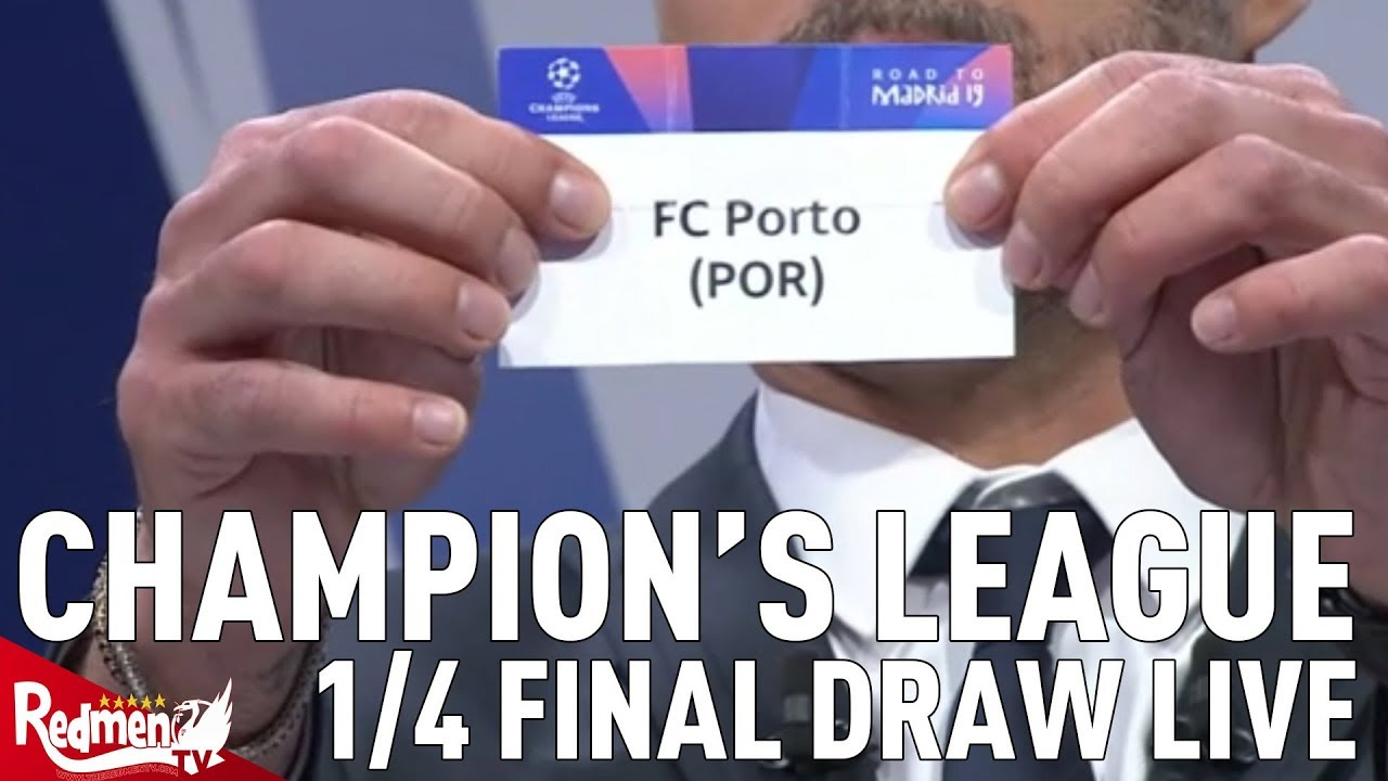 Liverpool V Porto Champions League Quarter Final And Semi Final
