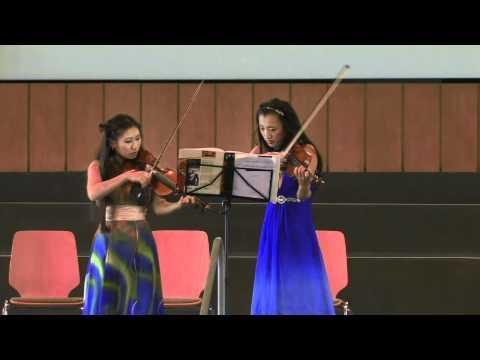Musical Performance: Olga und Irina Pak, Konferenz Ethik und Gesundheit, 14. Juni 2012