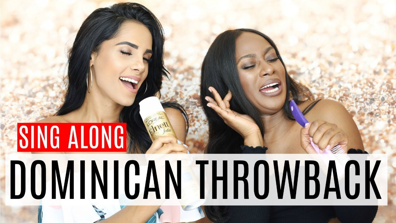 sing along top dominican throwback songs youtube. Black Bedroom Furniture Sets. Home Design Ideas