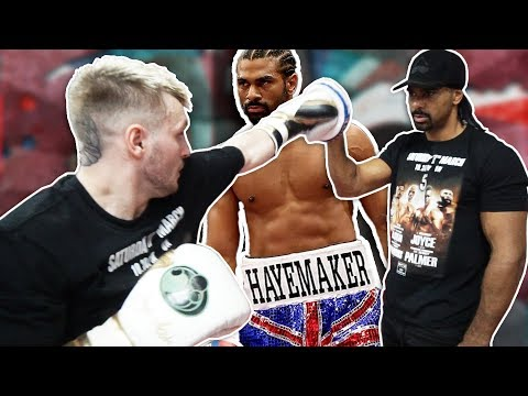 David Haye Is Training Me For My Boxing Fight (KSI v LOGAN PAUL UNDERCARD)