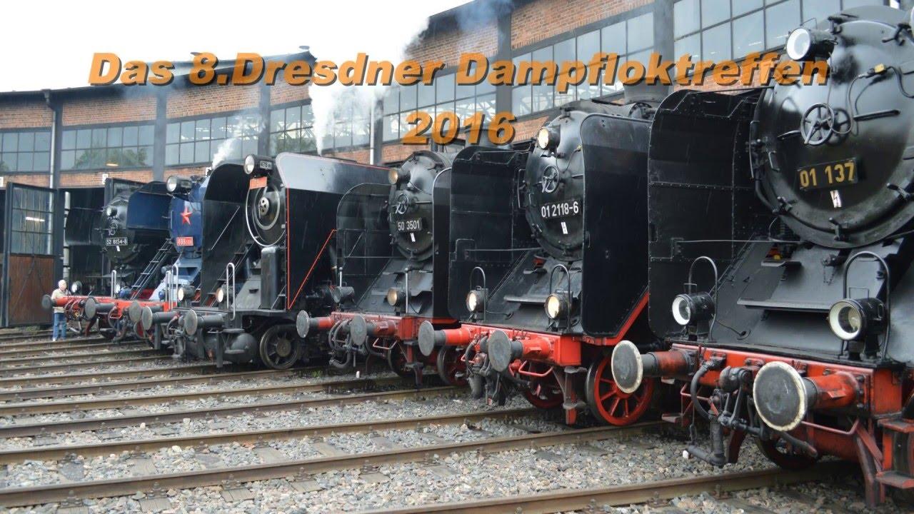 Das achte Dresdner Dampfloktreffen 2016