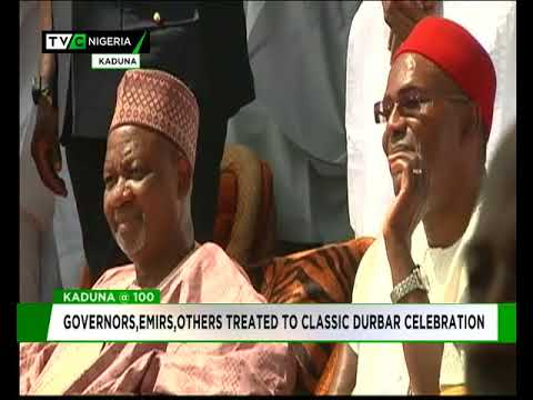Kaduna @ 100 : Governors, Emirs treated to classic Durbar celebration