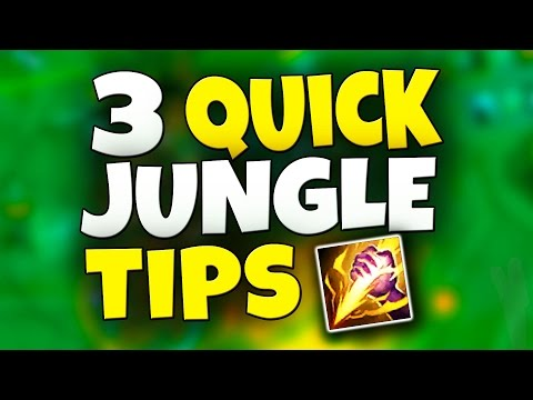 BE A BETTER JUNGLER - 3 Quick Tips! & I Want to Coach YOU -