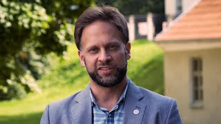 Expatriate Estonian Visiting Professor David Ilmar Lepasaar Beecher