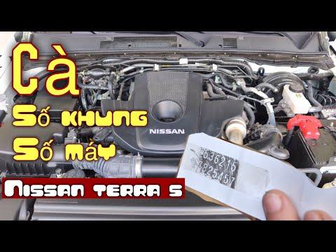 ✅ Số Khung - Số Máy Nissan Terra S, Xác Định Vị Trí Và Cách Cà Số Khung   Hoan Nissan