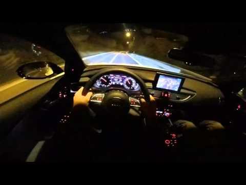 2016 Audi A7 competiton POV