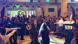 Осетинская свадьба.Юрий Алборов танцует под Ханты Цагъд. Свадьба Алана и Залины.