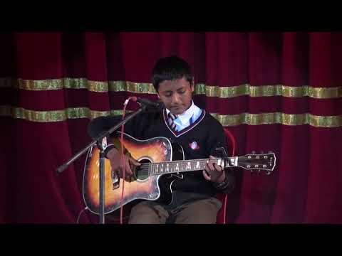 Guitar Solo by Amitabha Dangol | Rosebud School Annual Cultural Show 2075