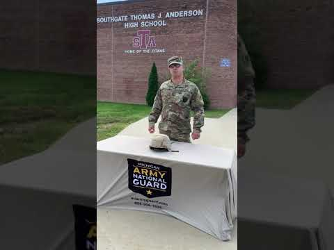 Your National Guard Recruiter for Southgate Anderson High School