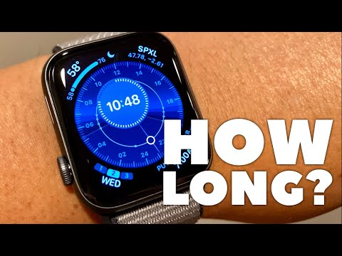 HOW LONG DOES THE APPLE WATCH SERIES 5 GPS & CELLULAR LAST?