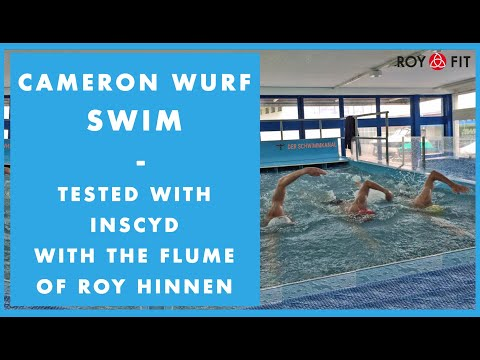Cameron Wurf Swim - Tested With INSCYD With The Flume Of Roy Hinnen