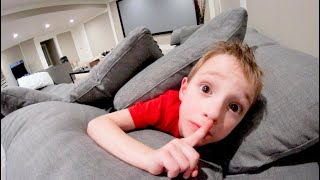 FATHER & SON PLAY HIDE AND SEEK 5! / Basement Time!