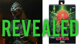 New NECA Godzilla 1989 Packaging Revealed