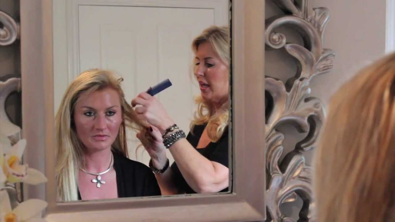 Celeb Hair Extensions Applying Micro Ring Hair Extensions Youtube