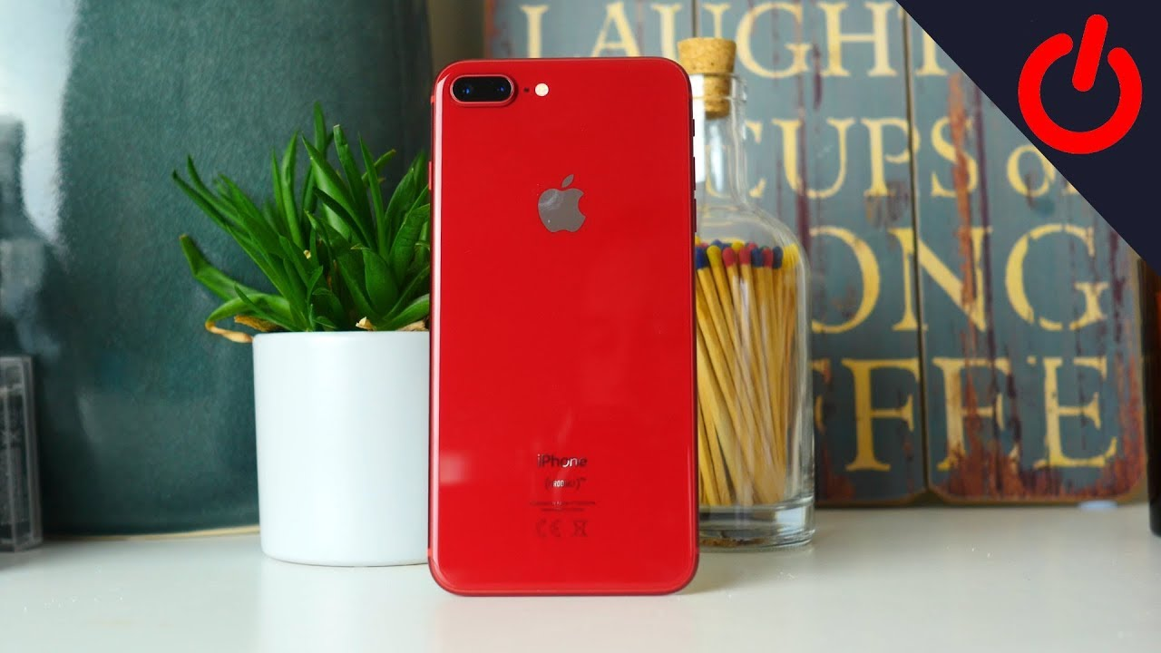 Apple Iphone 8 Plus Product Red Unboxing And Hands On Youtube