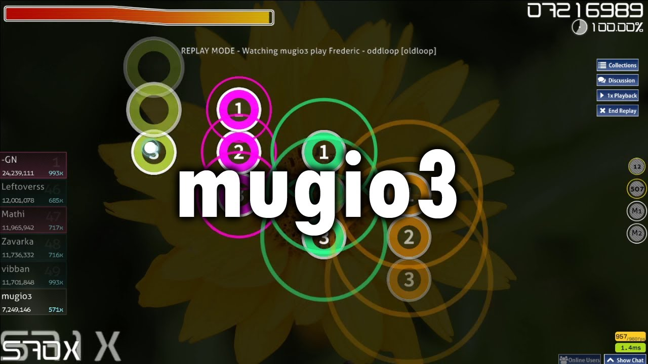 mugio3 and the Perfect Aim