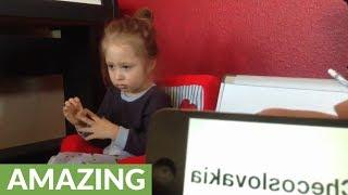 'Telepathic' child genius displays mind-blowing skills