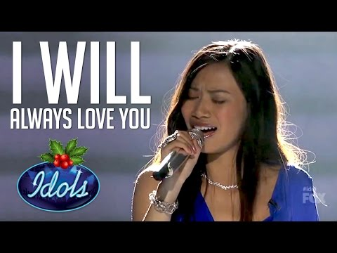 I Will Always Love You Whitney Houston Cover By Jessica Sanchez American Idol