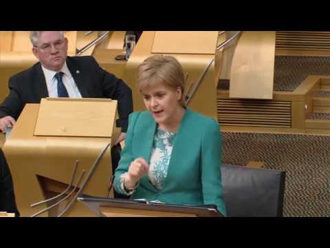 First Minister's Questions - Scottish Parliament: 30th March 2017