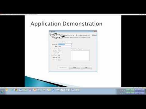 Senior Project - C# .NET Frontend & SQL Server Backend