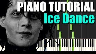 Edward Scissorhands - Ice Dance (Piano Tutorial) - MIDI