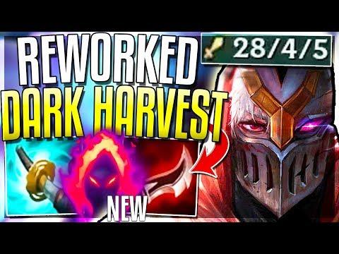 NEW DARK HARVEST MAKES ZED GOD-TIER Pre-Season 9 Changes - League of Legends