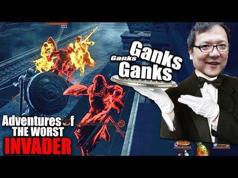 Dark Souls 3: Adventures Of The Worst Invader - My BEST Gank Spanks!