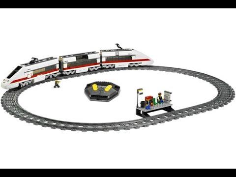 Lego 7897 Passenger Train Instruction Manual Youtube