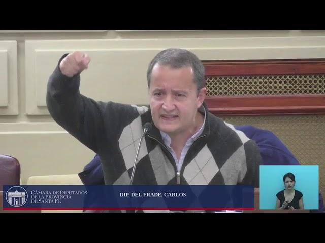 """Carlos Del Frade: """"Vicentín tiene una historia de estafas al estado"""""""