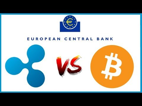 ECB tells Banks to embrace instant payments to beat Bitcoin at Conference - Ripple in Attendance!