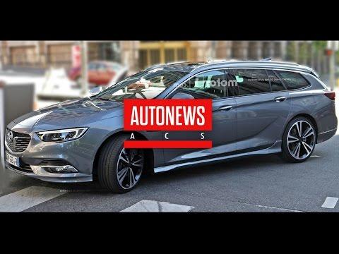 Новый Opel Insignia снят шпионами без камуфляжа