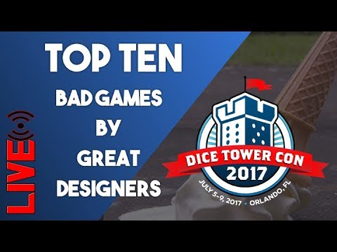 Top 10 Bad Games By Great Designers
